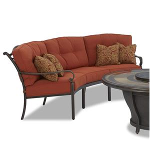 Klaussner Outdoor Riviera 3 Piece Sofa