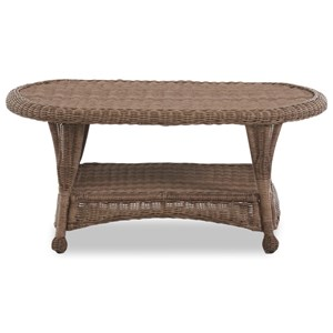 Wicker Cocktail Table