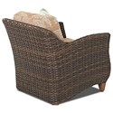 Klaussner Outdoor Sycamore Outdoor Chair with Drainable Cushion