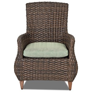 2 Pack-Dining Chair w/ Rev Cushion