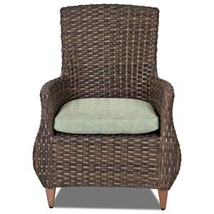 2 Pack-Dining Chair w/ Drain Cushion