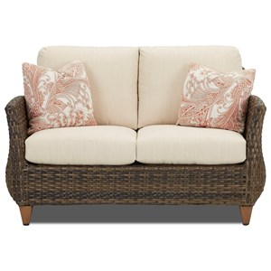Loveseat with Reversible Cushion