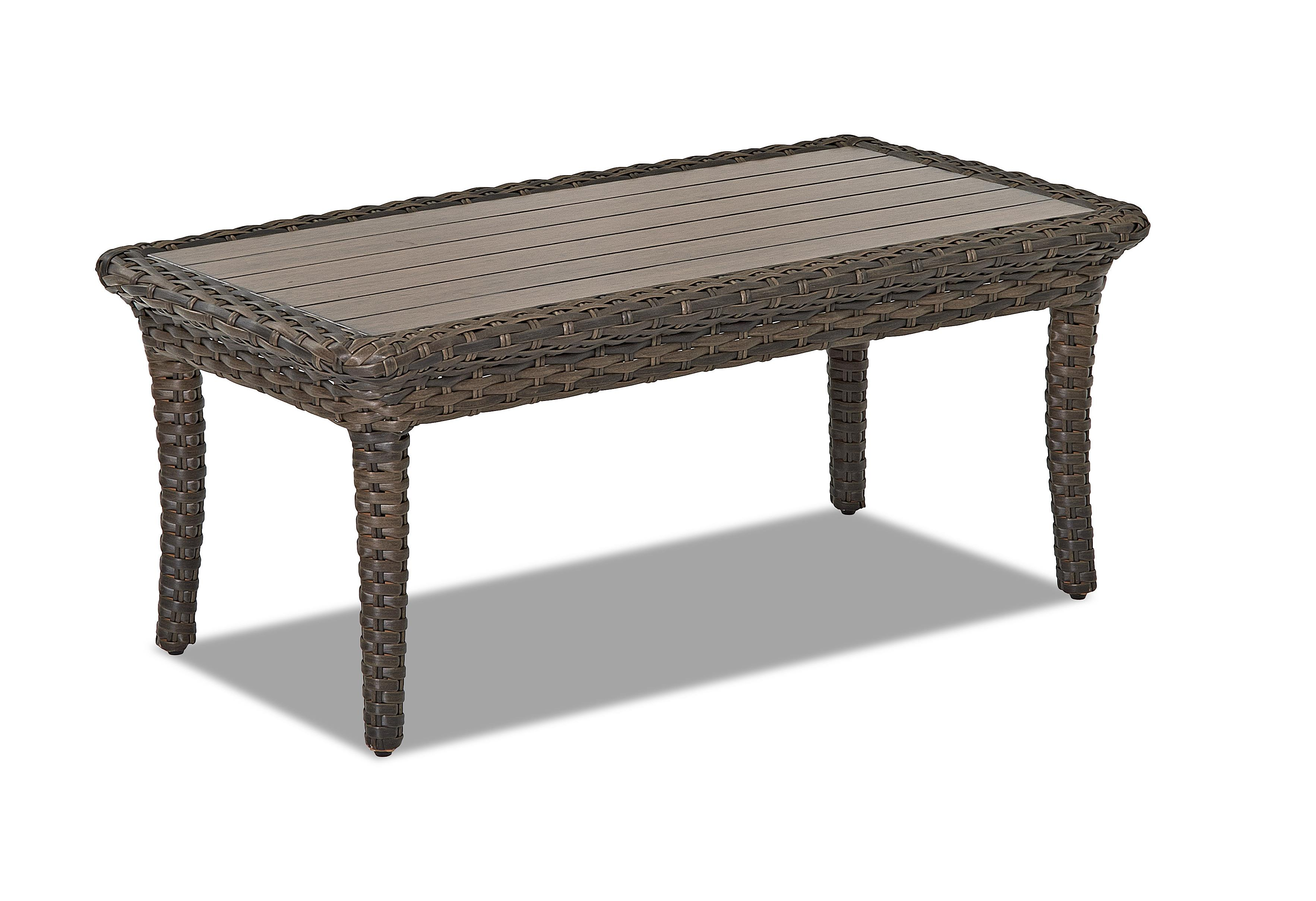 Klaussner Outdoor Sycamore W5100 Rect Rectangular Outdoor Cocktail Table Hudson 39 S Furniture