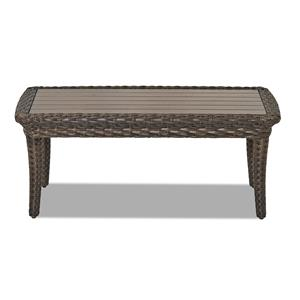 Klaussner Outdoor Sycamore Rectangular Outdoor Cocktail Table