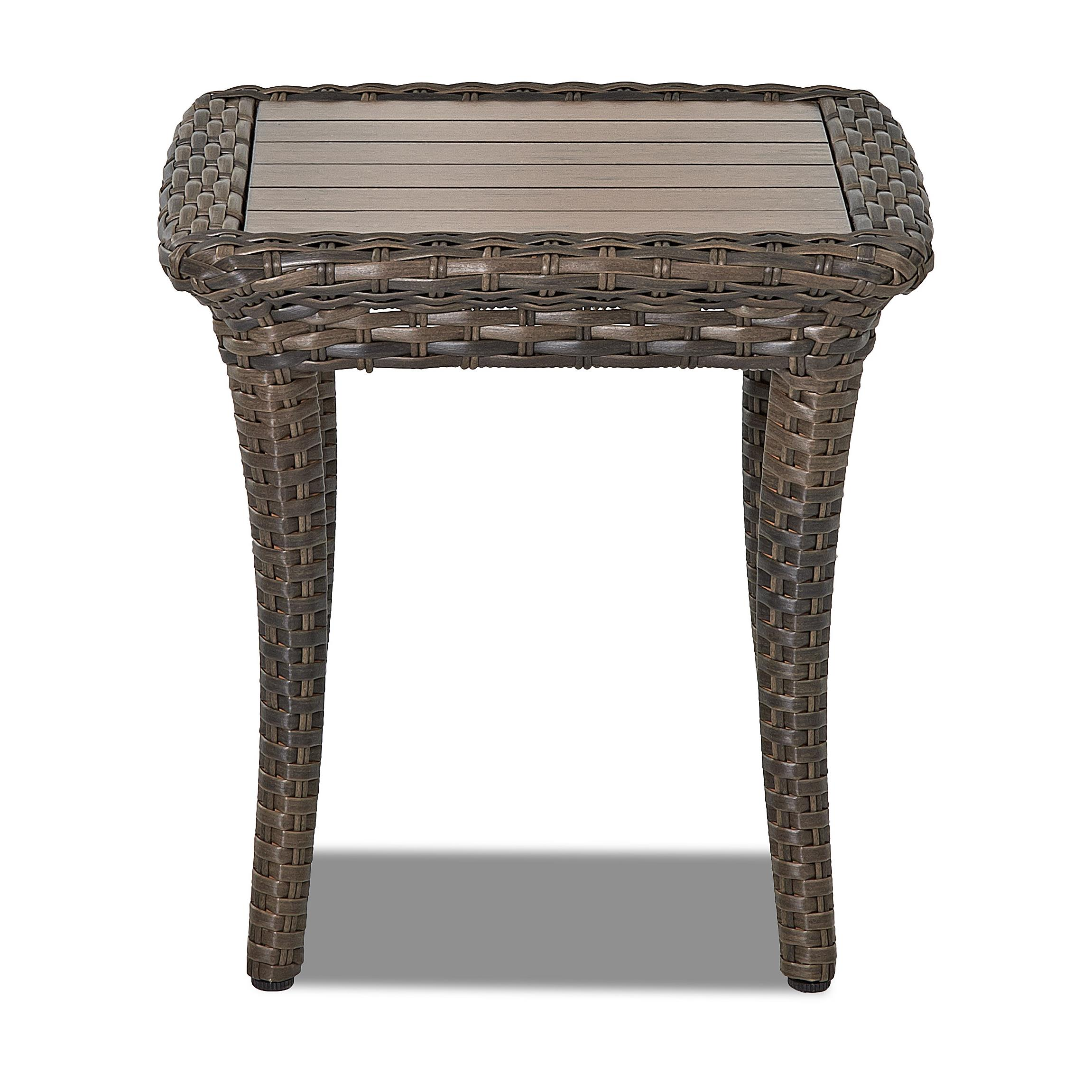 Belfort Outdoor Sycamore Square Outdoor End Table - Item Number: W5100 SQET