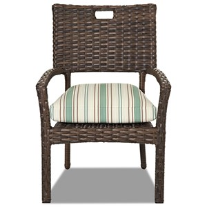 4 Pack-Stack Din Chair w/ Rev Cushion