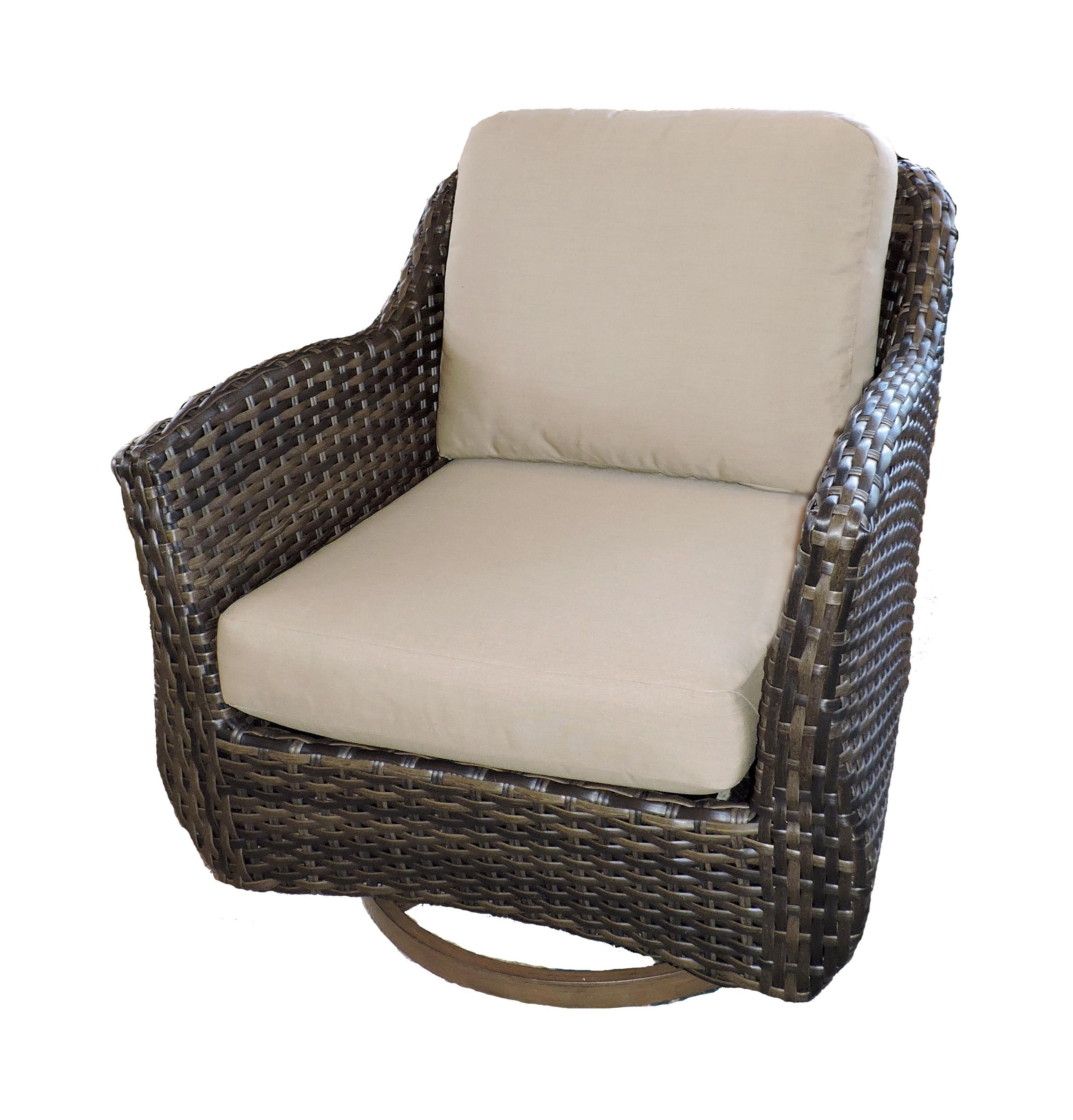 Belfort Outdoor Sycamore Outdoor Swivel Glider Chair - Item Number: W5199D SGC 5476-0000