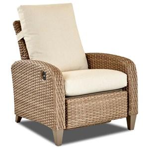 High Leg Recliner w/Drainable Cushion