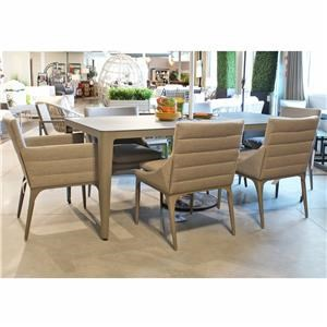 Outdoor Dining Table and Chair Set