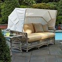 Klaussner Outdoor Willow Daybed - Item Number: W1200 DAY