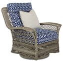 Klaussner Outdoor Willow Swivel Glide Chair - Item Number: W1200 SCDR