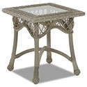 Klaussner Outdoor Willow Square Accent Table - Item Number: W1200 SQAT