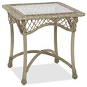 Klaussner Outdoor Willow Square End Table - Item Number: W1200 SQET