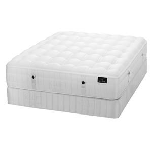 TwinXL Lux Firm Mattress & Low Foundation