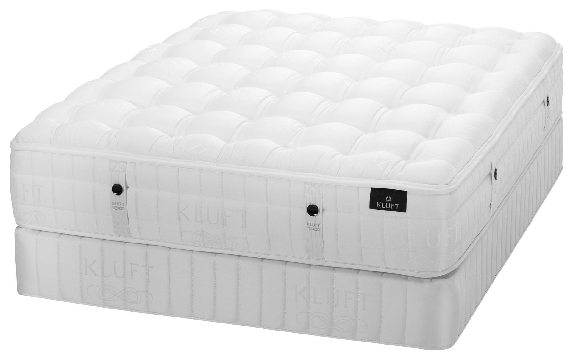 King Lux Firm Mattress & Low Foundation