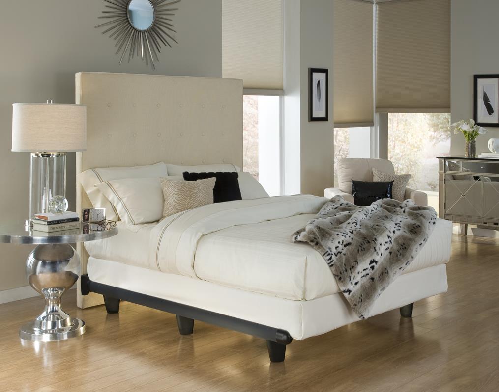 Knickerbocker White Embrace Bed Frame