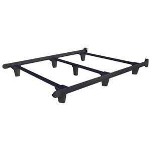 Knickerbocker Embrace Bed Frames Queen Charcoal Black Bed Frame