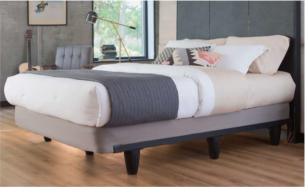 Knickerbocker Engauge King Bed Frame | Boulevard Home Furnishings ...