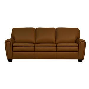 Lifespaces (D) Daisy Sofa with Box Band Classic Backs and Euro Seats by Kroehler