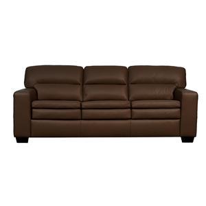 Lifespaces (F) Box Band Split Back Faith Sofa w/ Euro Seat by Kroehler