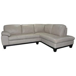 BFW Lifestyle 1263 2 Pc Sectional Sofa w/ RAF Chaise