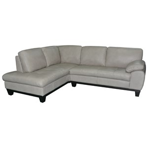 BFW Lifestyle 1263 2 Pc Sectional Sofa w/ LAF Chaise