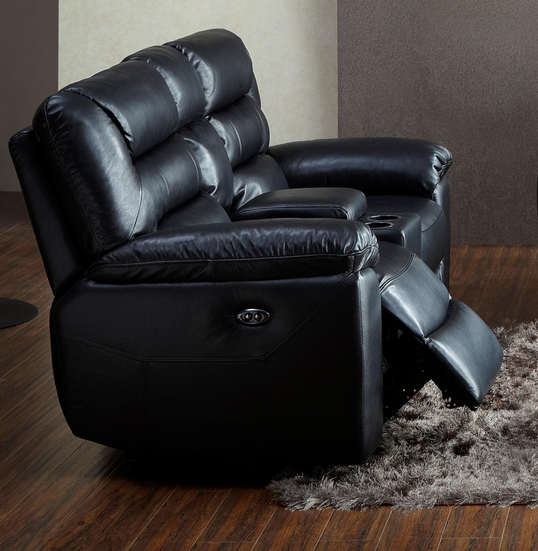 BFW Lifestyle 1711 Reclining Loveseat with Console - Item Number: 1711 Loveseat