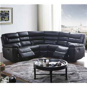 BFW Lifestyle 1711 5 Pc Reclining Sectional Sofa