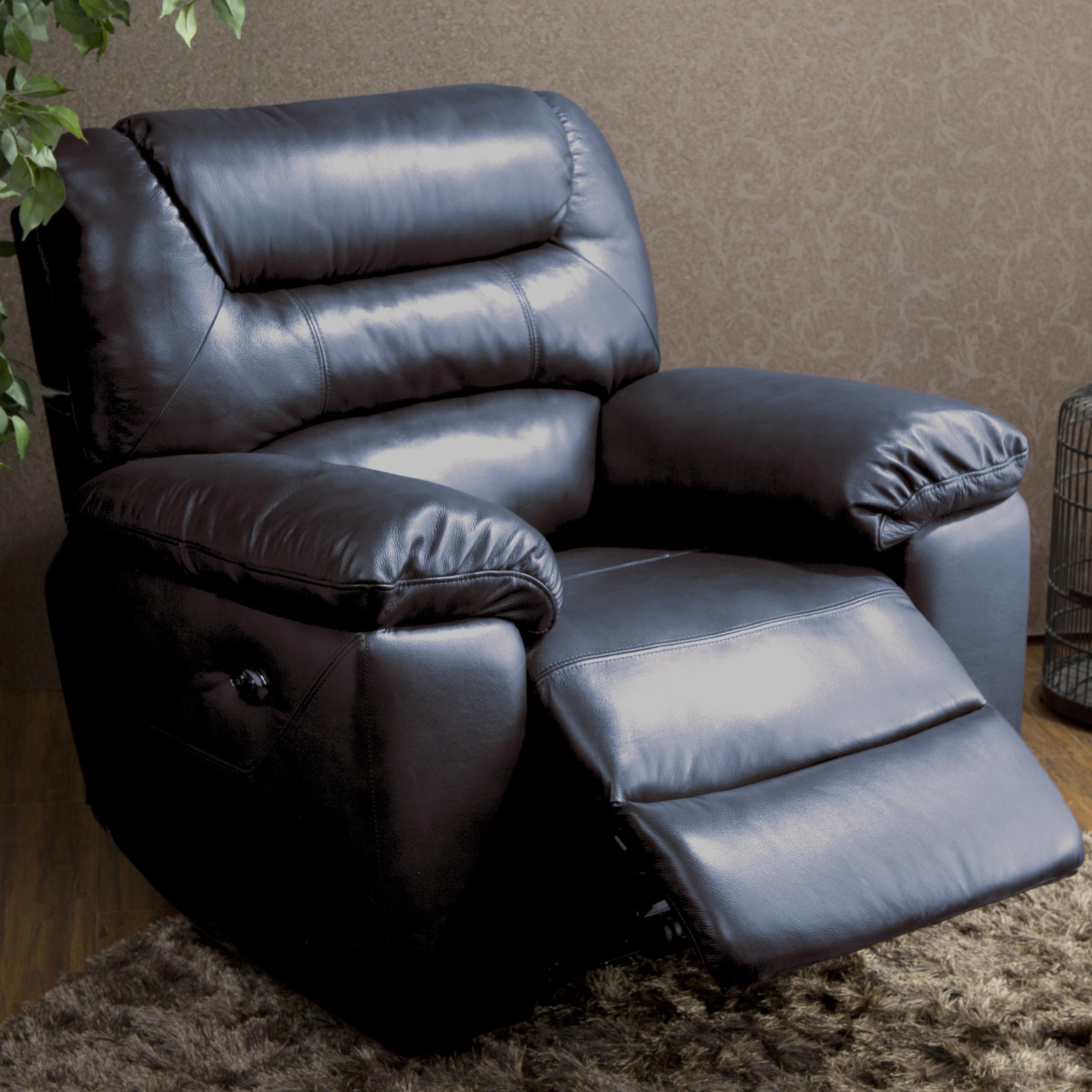 BFW Lifestyle 1711 Causal Glider Recliner - Item Number: 1711-1-2A-G-M1773