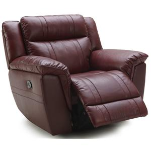 K.C. Norton Norton Leather Recliner (POWER Option))
