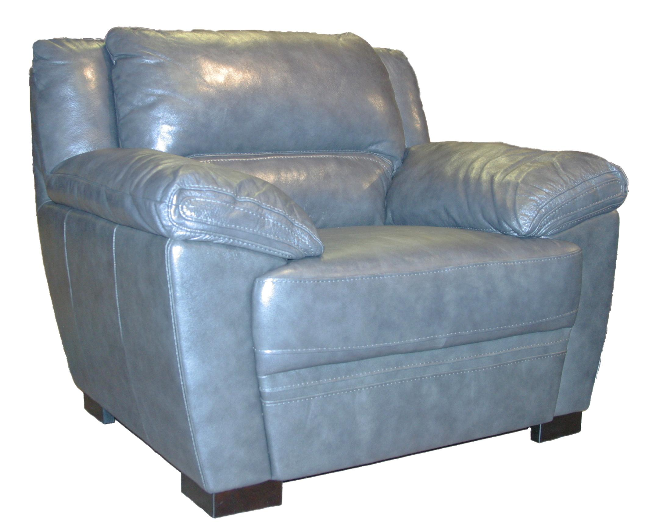 BFW Lifestyle 1963 Casual Chair - Item Number: 1963 Chair M1215 Dk Grey