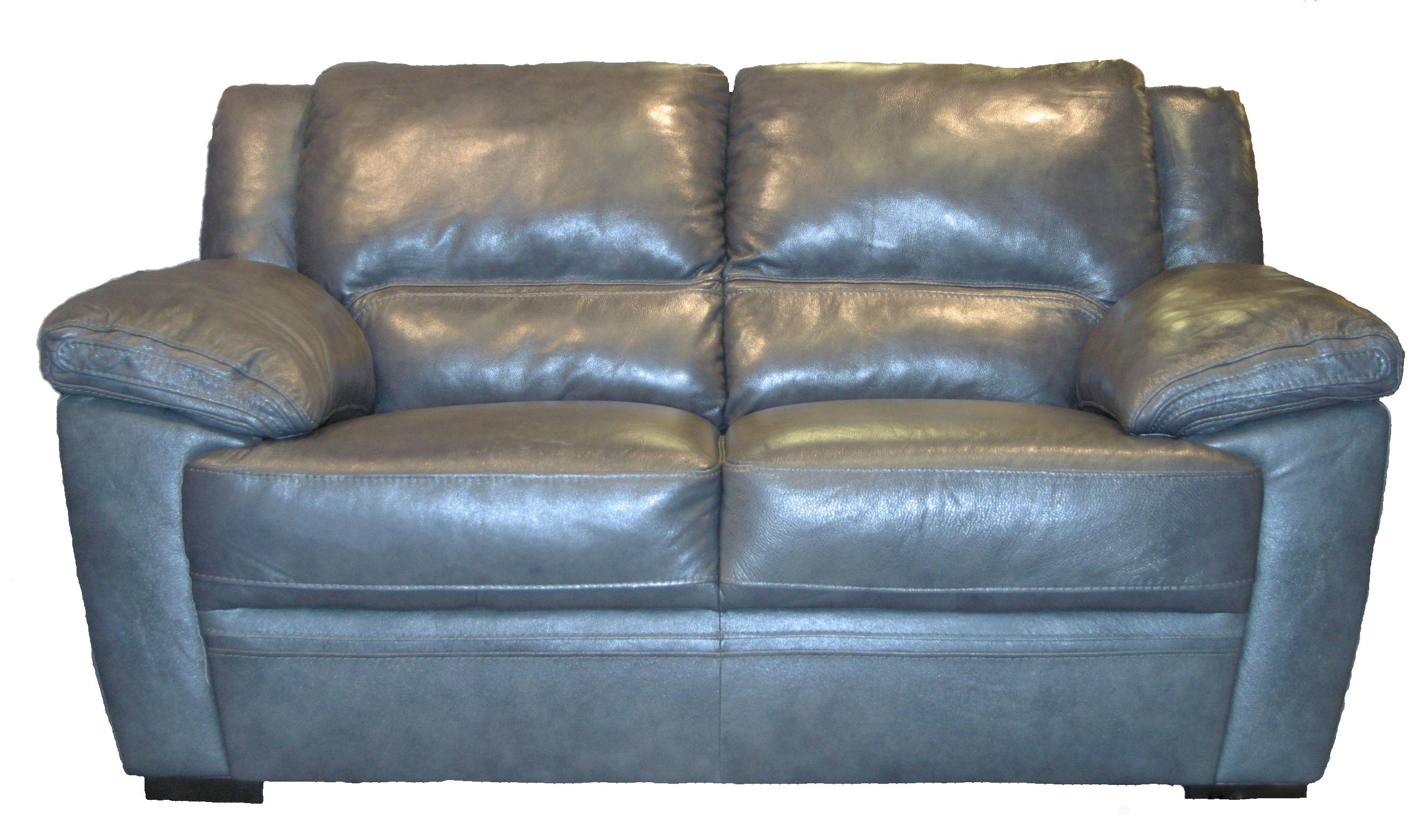 BFW Lifestyle 1963 Casual Loveseat - Item Number: 1963 Lvst M1215 Dk Grey