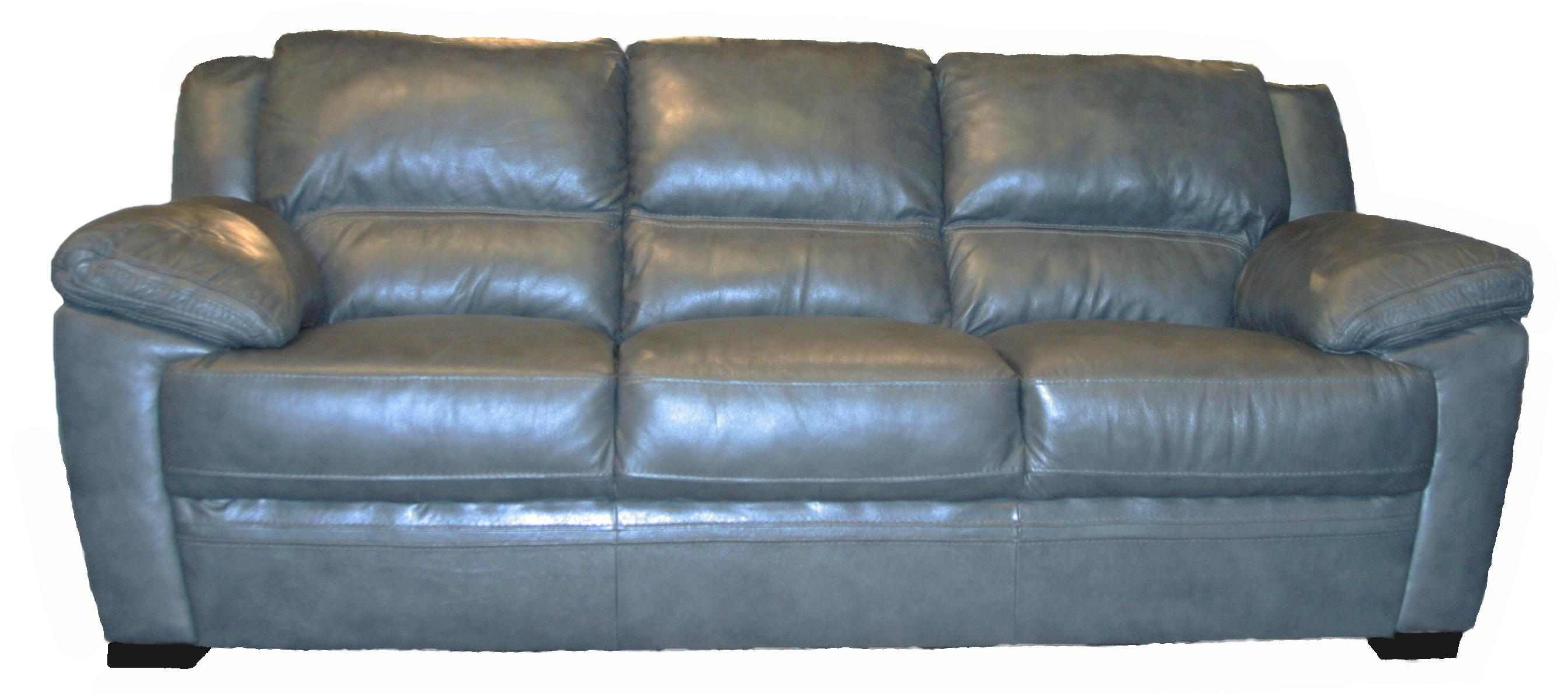 BFW Lifestyle 1963 Casual Sofa - Item Number: 1963 M1215 Dk Grey