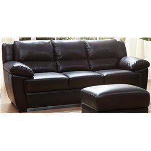 K.C. Vista Vista Leather Sofa