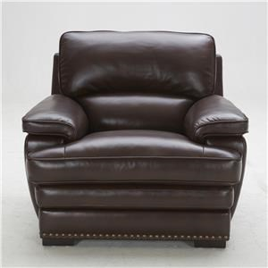Urban Evolution Duncan Leather Chair