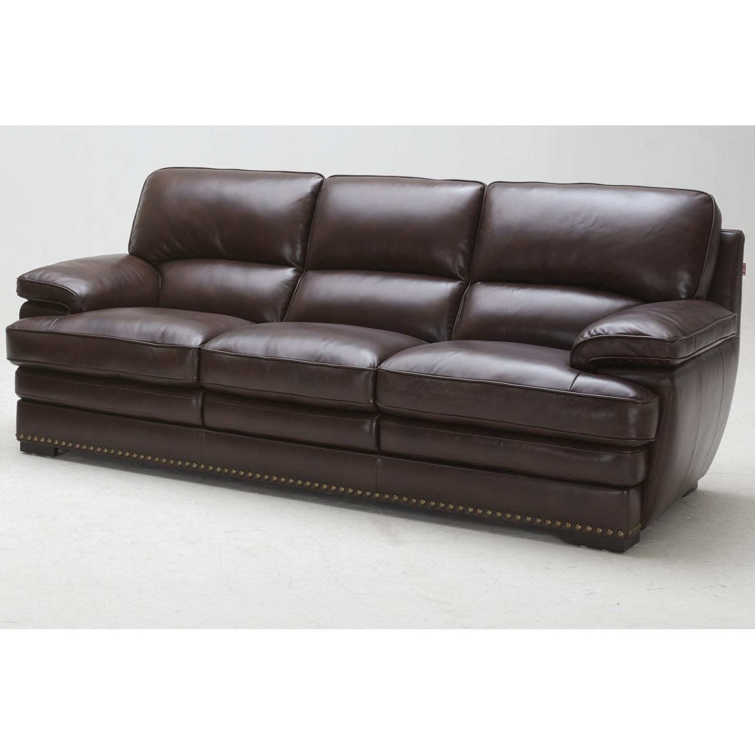 Urban Evolution Duncan Leather Sofa - Item Number: 3301-3