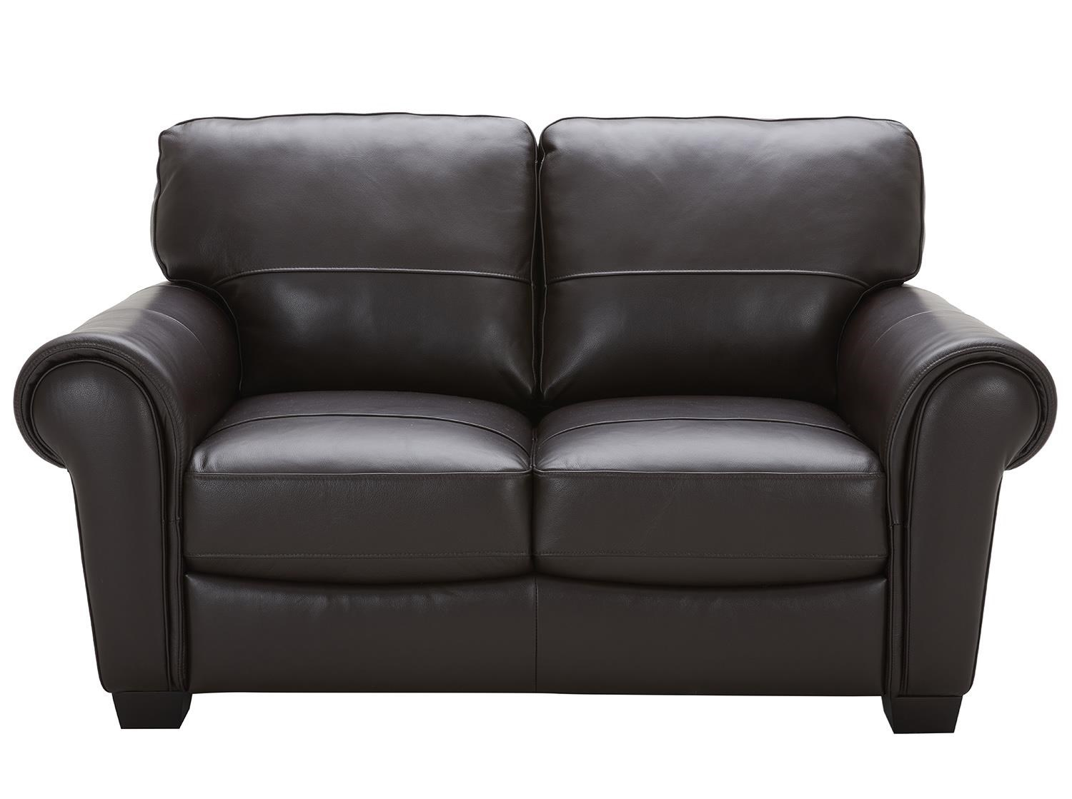Urban Evolution Teddy Leather Loveseat - Item Number: 5002-2