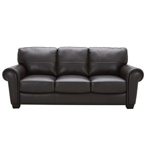 Urban Evolution Teddy Leather Sofa