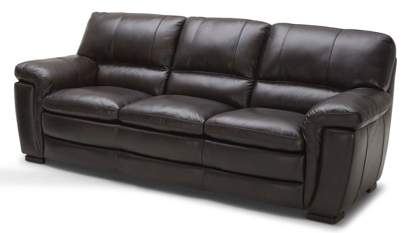 Kuka Home 5295 Casual Leather Sofa