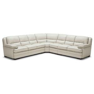 Casual Four Piece Corner Sectional Sofa