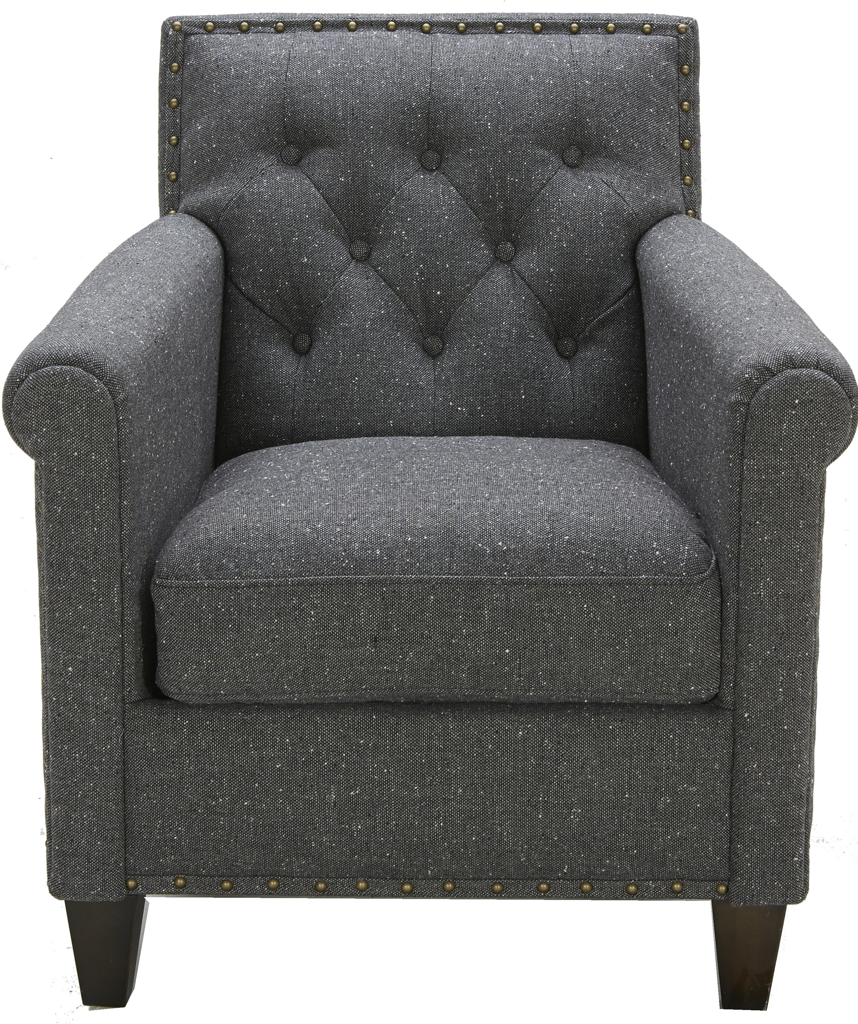 Urban Evolution Tristan Tufted Chair - Item Number: A-655-KD337