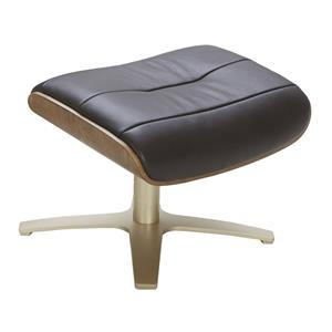 Urban Evolution Karma Leather Ottoman