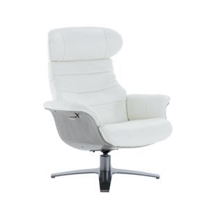 Kuka Home A928 Reclining Chair w/ Gray Wood
