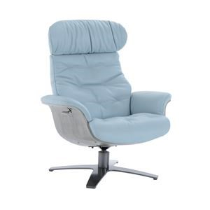 Kuka Home A938 Reclining Chair w/ Gray Wood