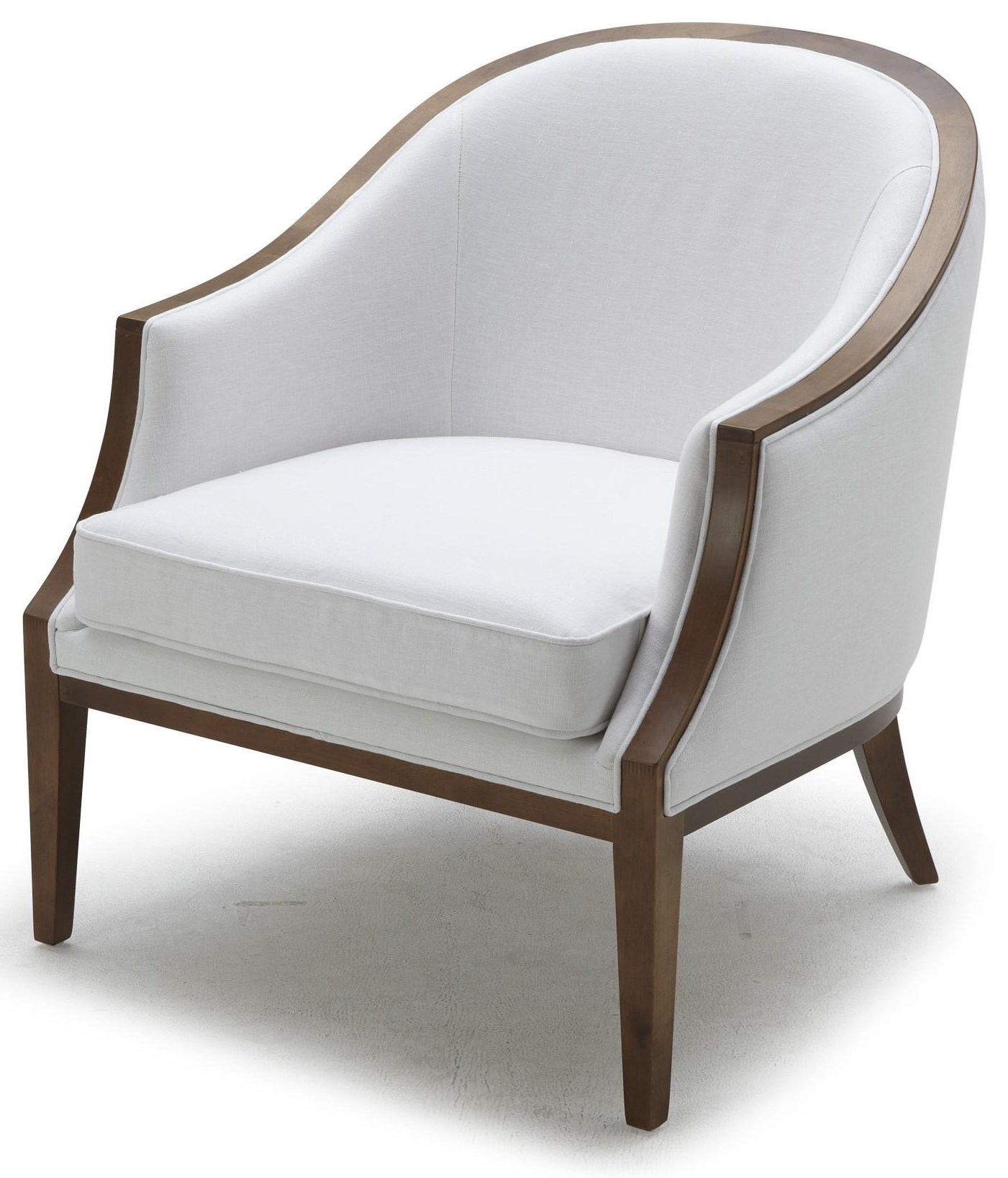 Accent Chairs Linen Accent Chair at Becker Furniture