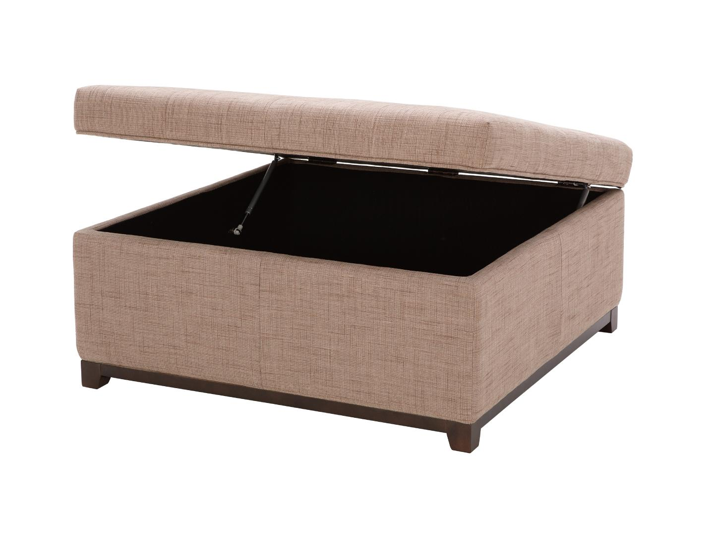 Accent Ottomans Storage Ottoman With Tufting