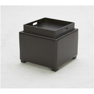 BFW Lifestyle Accent Ottomans Contemporary Storage Ottoman