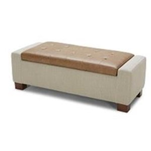 Urban Evolution Accent Ottomans Storage Ottoman