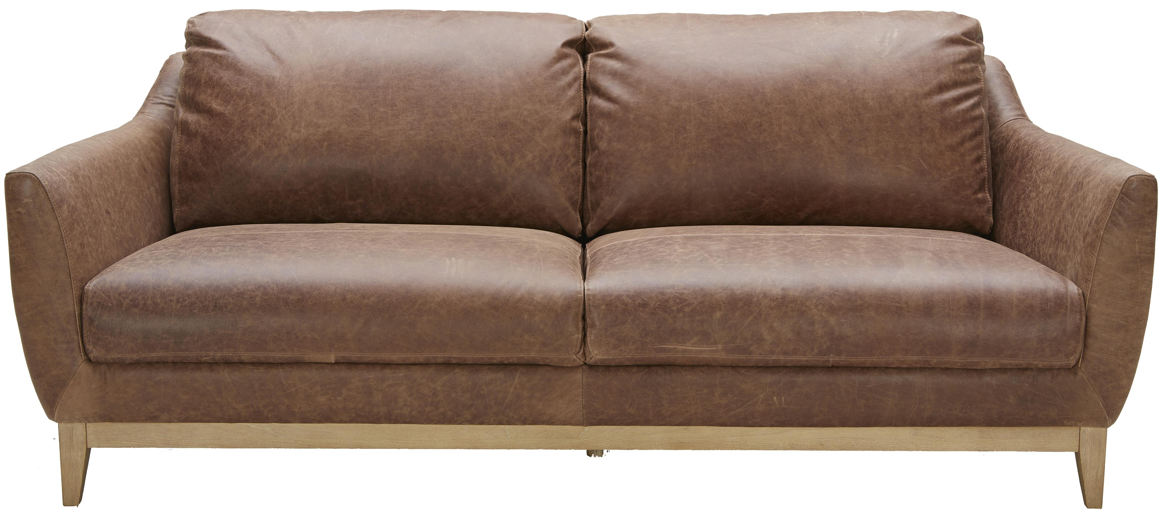 Urban Evolution Baker Modern Leather Sofa Belfort Furniture Sofas