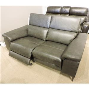 Bryson Leather Power Loveseat